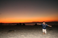 David loves sunset picnics on Pringle Bay beach